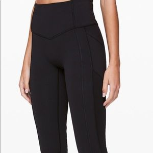 LULULEMON ALL THE RIGHT PLACES CROP Ii BLACK